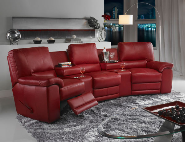 Mentor Furniture Home Theater Seating Reclining