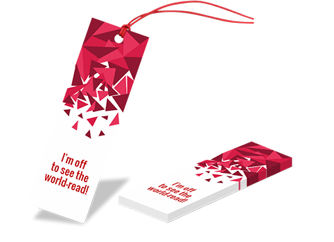 creative bookmarks with ribbon