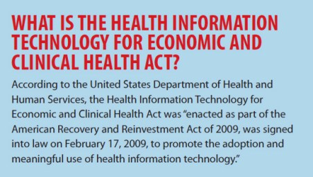 WHAT IS THE HEALTH INFORMATION TECHNOLOGY FOR ECONOMIC AND CLINICAL HEALTH ACT?
