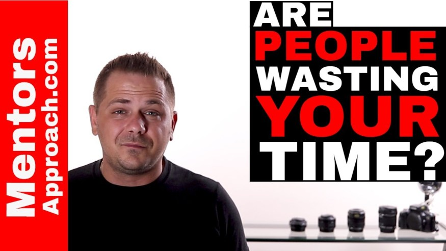 Why do some people only get upset when someone else wastes their time