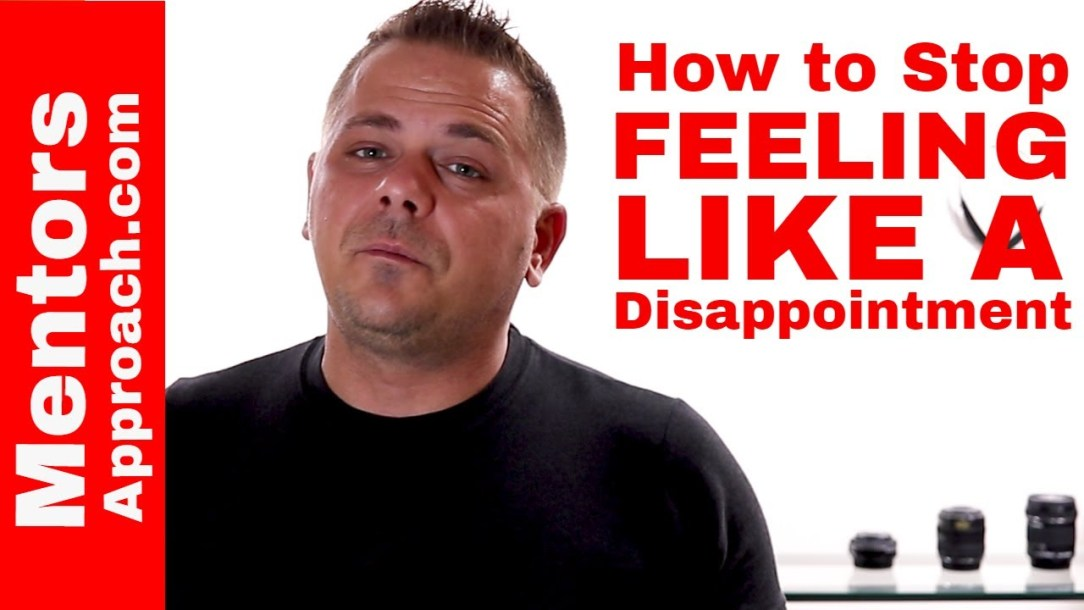 How to Stop Feeling Like a Disappointment to Others
