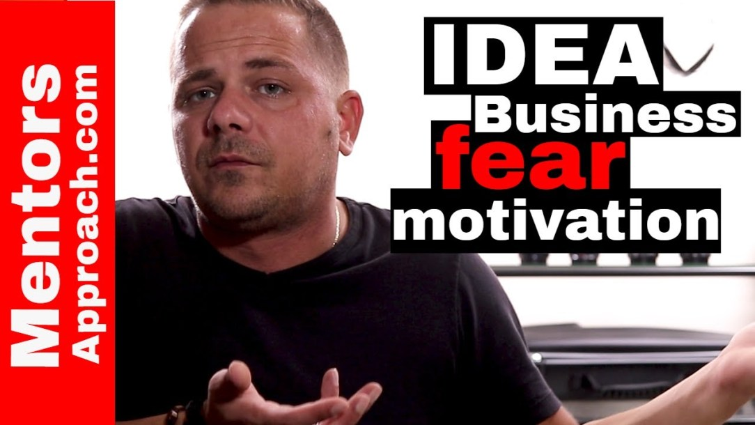 Idea to Business. The insecurities and Motivation that come with it