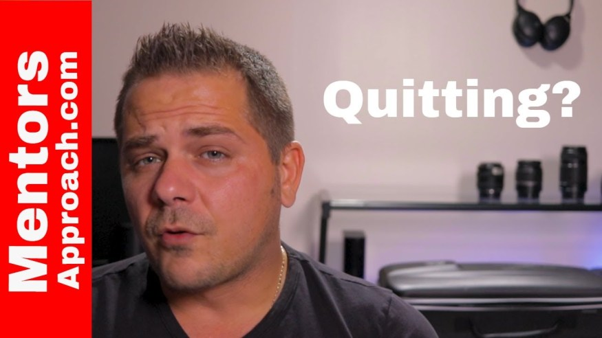 Persistence and Being Consistent vs Quitting |  How to Be More Consistent in Life