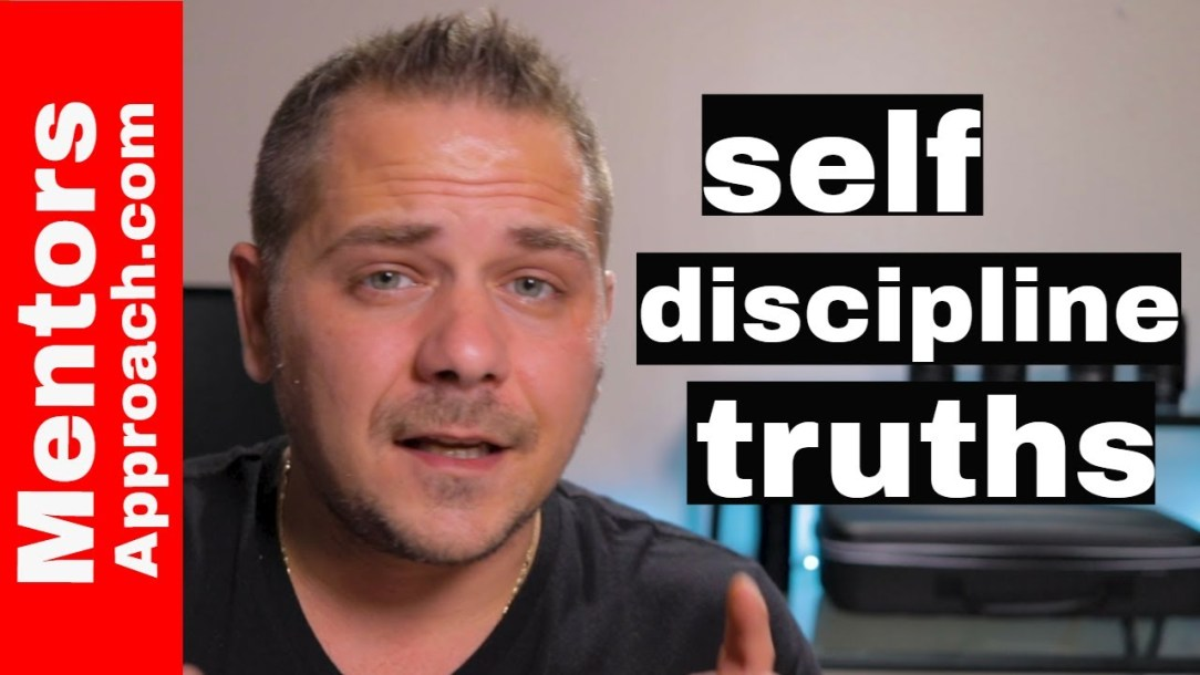 Self discipline when we need it most | before you give up on you