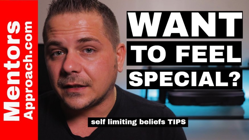 I'm NOT anything special  | Self Limiting Beliefs TIPS