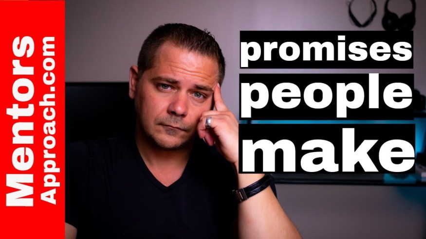 Why People Don't Keep Promises | How it Relates to Procrastination and You