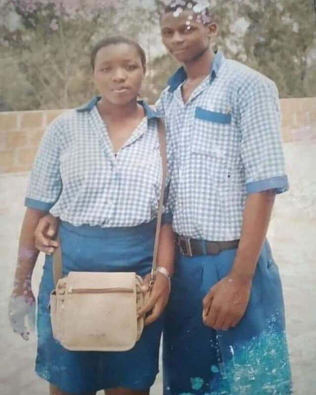 Lovers who met during Secondary School, Weds (Photos)