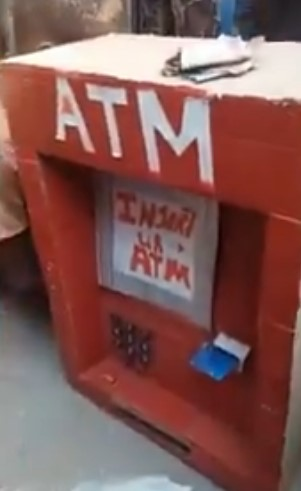 ATM Built By Primary Six Pupil