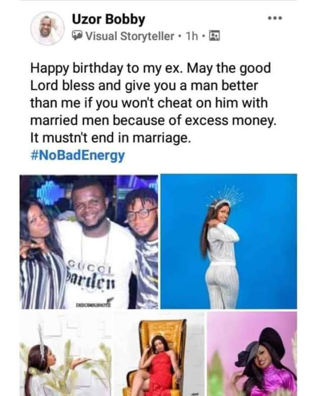 Man Drags Ex, Accuses Her Of Cheating With Married Men