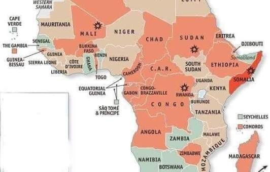 African countries slogans