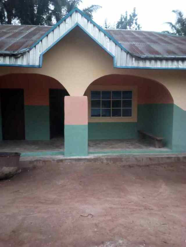 Vivian Unigwe house gift to parents