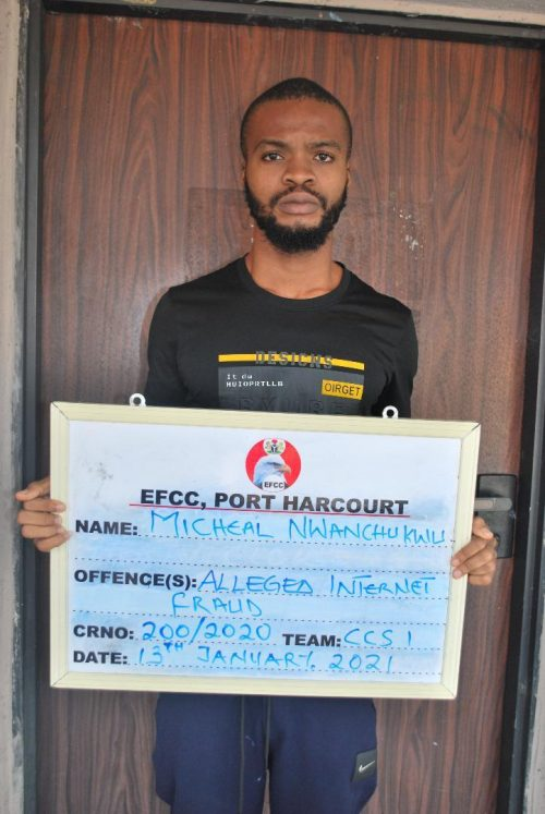 FUTO Student Arrested By EFCC Over Alleged Cybercrime