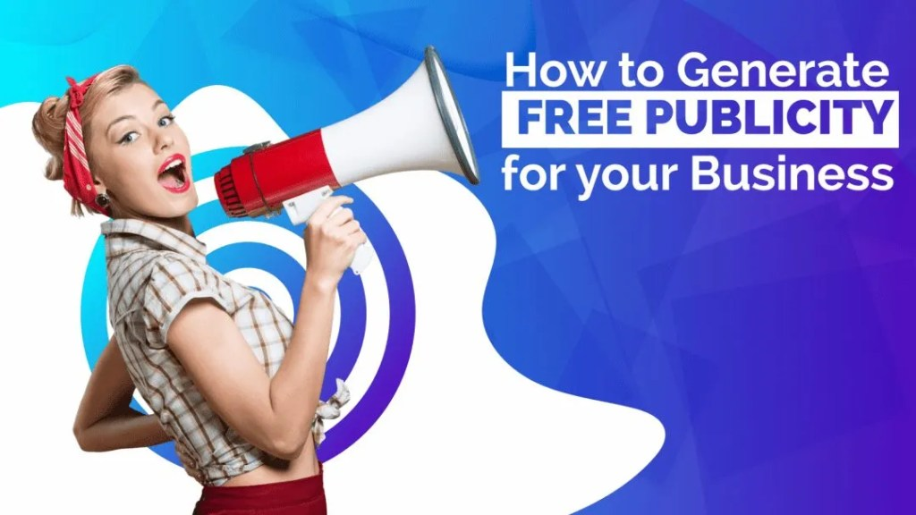 Video Cover-How to Generate Free Publicity