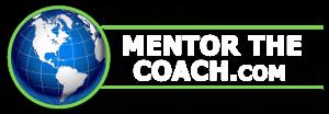 Mentor The Coach_White Logo