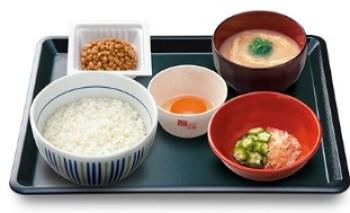 なか卯 朝まぜごはん納豆定食