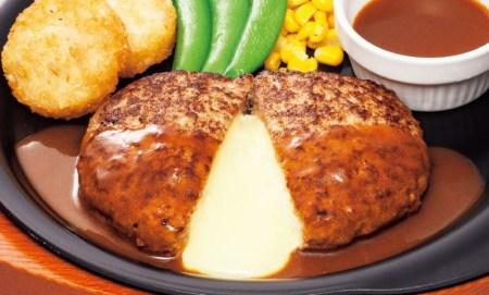 チーズINハンバーグ 399円9月29日~10月19日