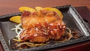 ステーキガストのランチ「若鶏のスパイスグリル」