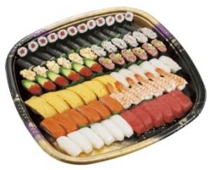 かっぱ寿司「かっぱの人気盛り(6人前)」