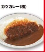 かつやの500円ランチ「カツカレー(梅)」