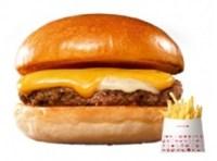 ロッテリアのクーポン絶品チーズバーガー+ポテトS