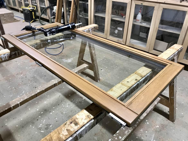 Fabrication fenêtre bois