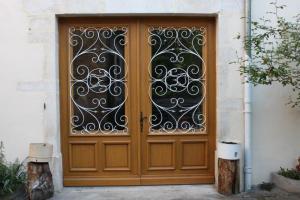 Porte cochère deux vantaux