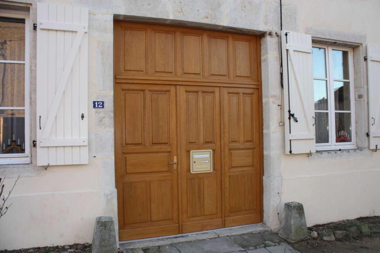 Porte cochére vantaux