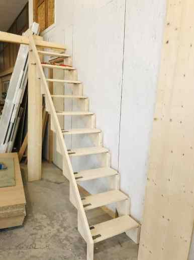 Escalier pliant en Epicéa