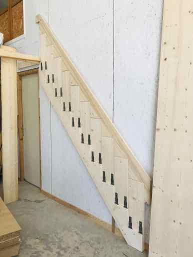 Escalier rabattable