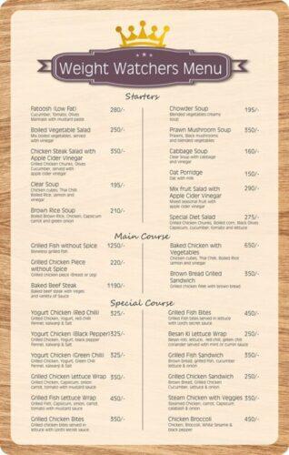 Lord Of Food Lahore Menu Card 8