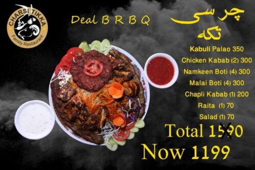 Charsi Tikka Deals 3