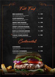 Fusion Grill Complete menu 2