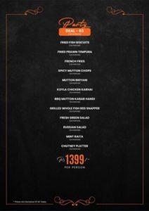 Fusion Grill Complete menu 5
