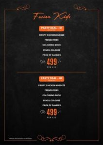 Fusion Grill Complete menu 6