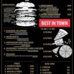 Pizza Monger Islamabad Menu