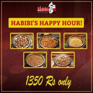 Habibi Restaurant Menu Card 3