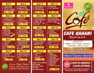 Café Kahani Discounted Deals