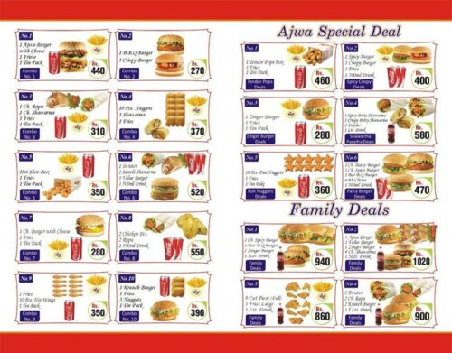 Ajwa Food Point Discounted Deals