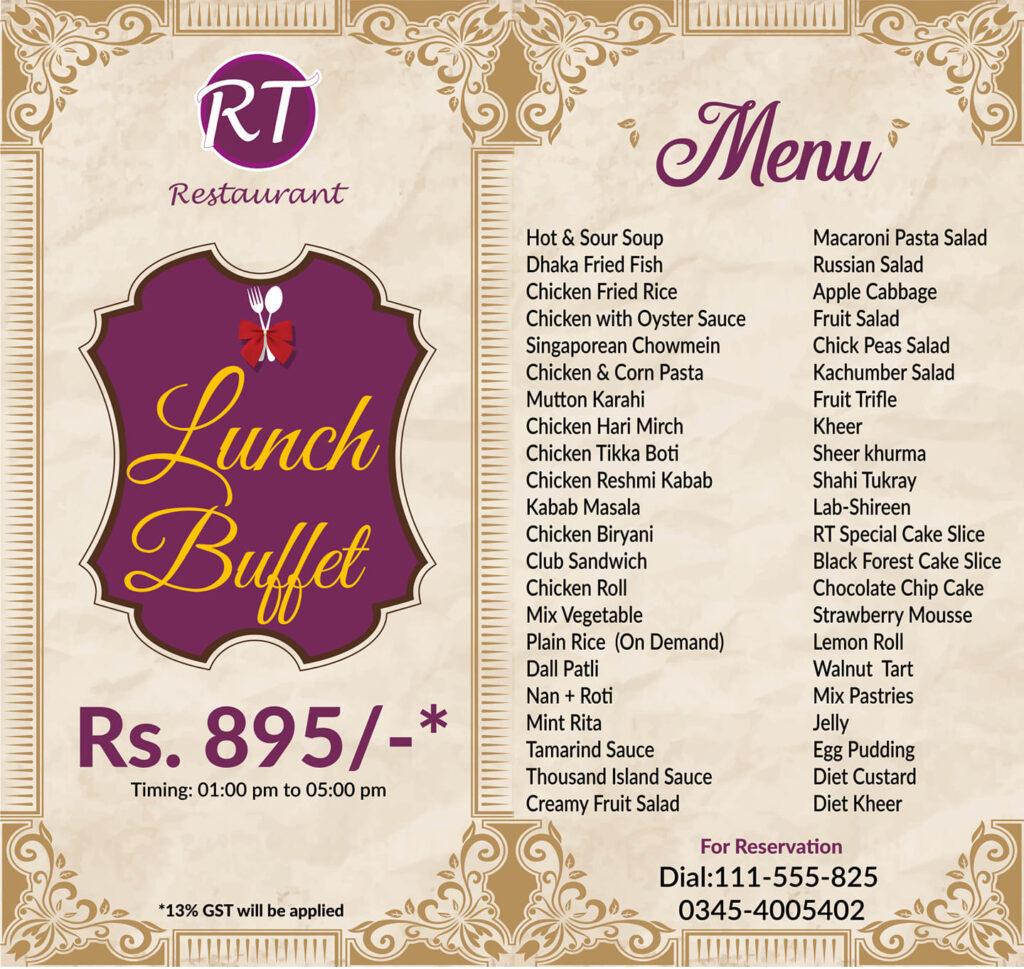 Royal Taj Hyderabad Menu Prices Deals Buffet Contact Number Location