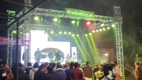 Lahore City Festival live Singing