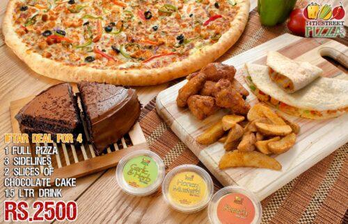 14th Street Pizza Iftar Deals