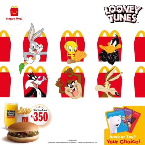 Happy Meal Toy March April 2021