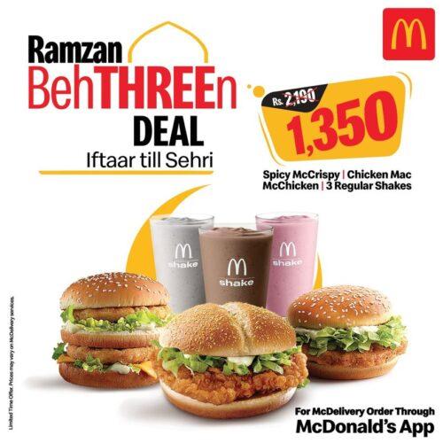 McDonalds Ramadan Deal 1