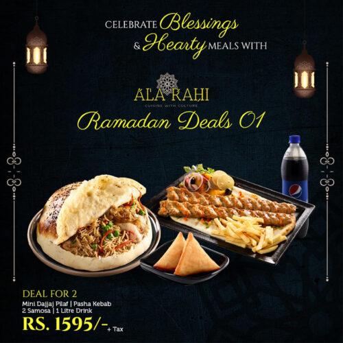 Ala Rahi Iftar Deal