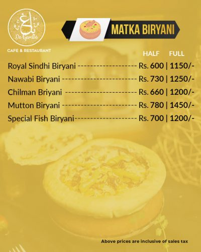 Baagh Cafe And Restaurant Hyderabad Biryani