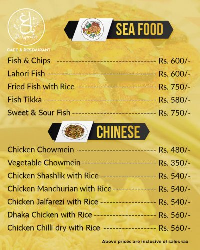 Baagh Cafe And Restaurant Hyderabad Chinese