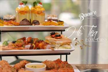 Baauz Cafe Islamabad Hi Tea