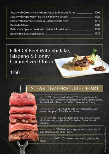 Bella vita Steaks