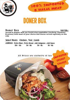 Berlin Doner Box