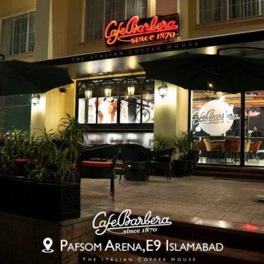 Cafe Barbera Islamabad Pics